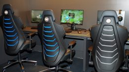 United Cyber Space Raum im Hamburger Ding