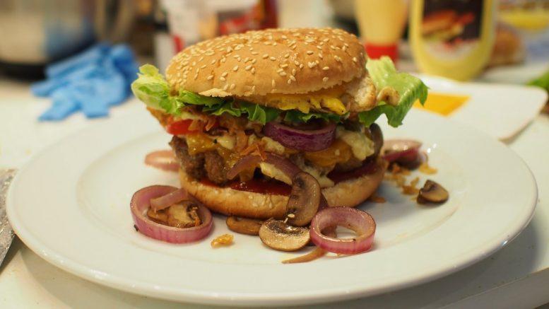 Burger mit CBD-Öl lecker
