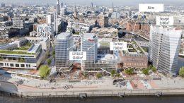 Planung: Westfield Hamburg Überseequartier HafenCity