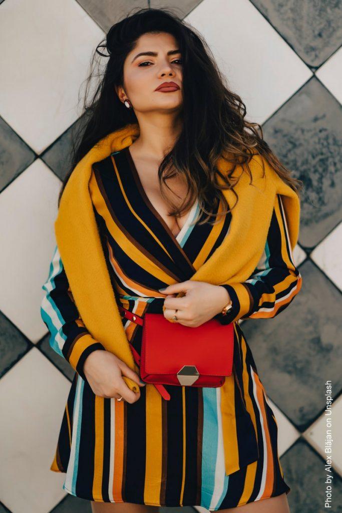 Fashionfoto mit Frau