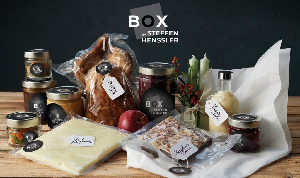 Enten Menü Zutaten Box by Steffen Henssler