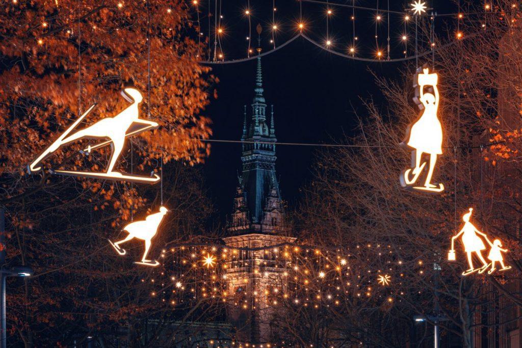 Weihnachtsbeleuchung Hamburg Mönckebergstraße