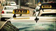 Taxis im Straßenverkehr, Symbolbild