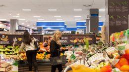 UV-C Luftreiniger in Hamburg Barmbek im Supermarkt