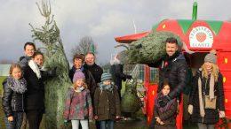 Weihnachtsbaumverkauf Erdbeerhof Glantz