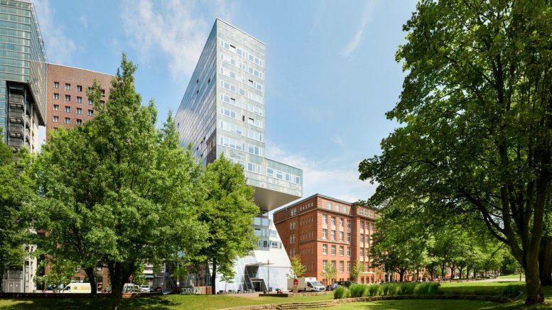 Universitätsgebäude der HAW am Berliner Tor in Hamburg