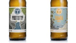Craft Beer Etiketten von Kehrwieder Prototyp und Samoa