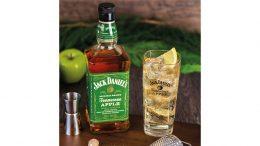 Flaschen Jaqck Daniels Tennessee Apple