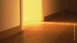 Fussboden und Tür