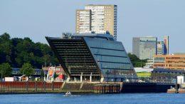 Docklandhaus direkt an der Elbe