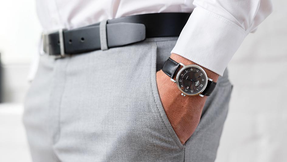 Eugen Wegner Phoenix Uhr am Arm