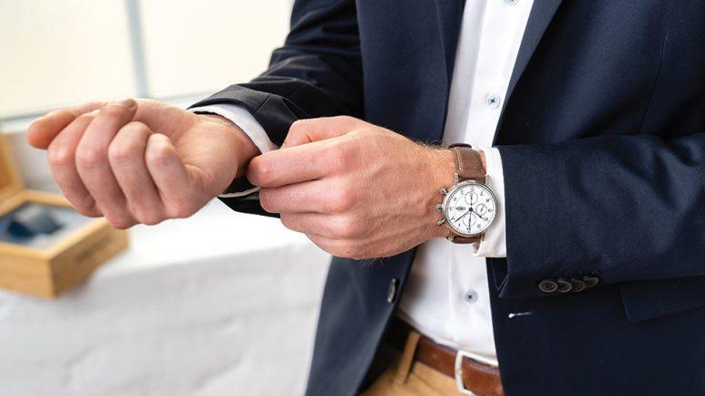 Eugen Wegner One Uhr am Arm