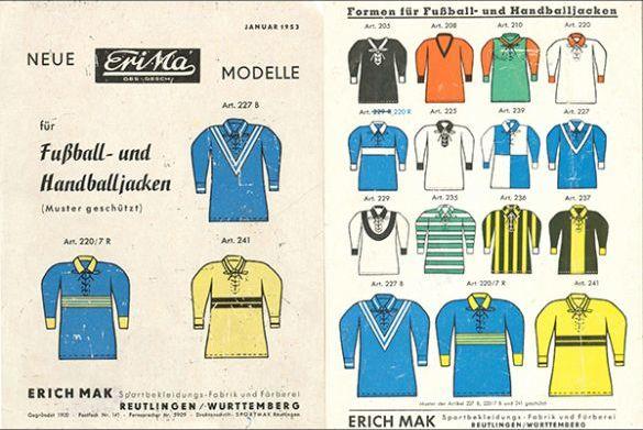 Blick in den historischen Katalog von 1953