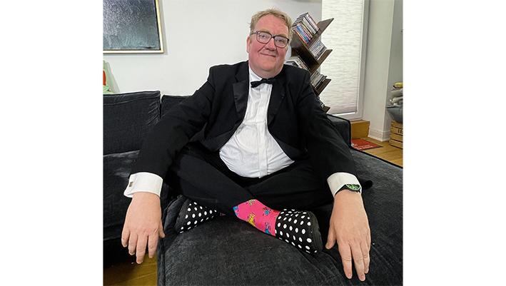 Lars Meier im Smoking