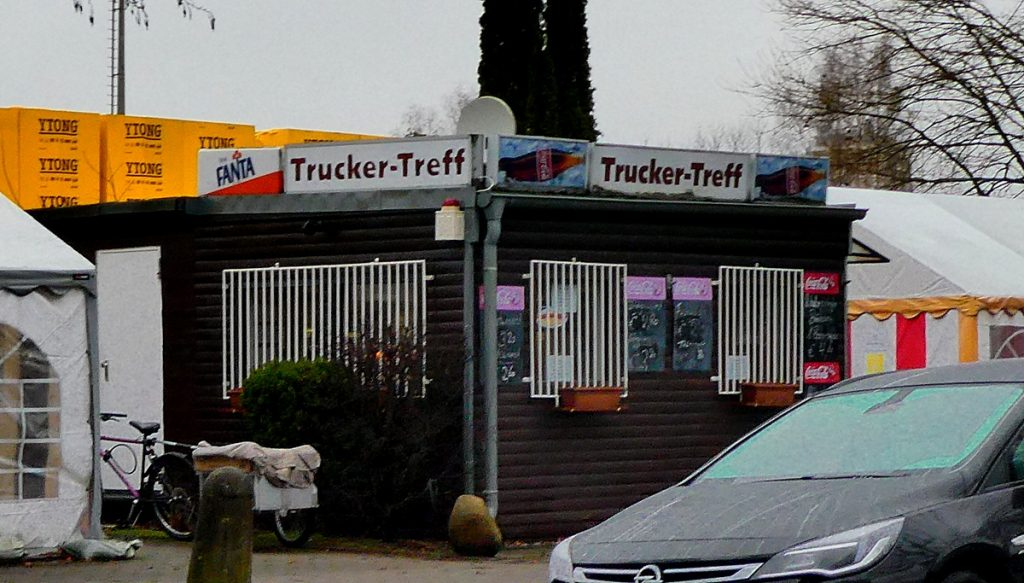 Der Schnellimbiss Trucker Treff