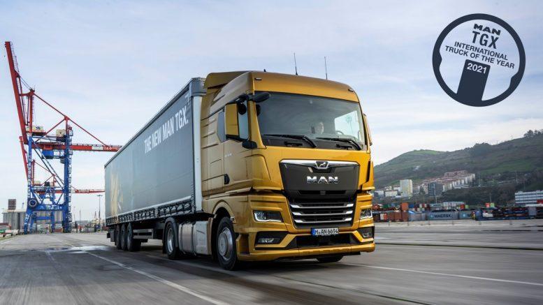 Truck of the Year 2021 der MAN GTX
