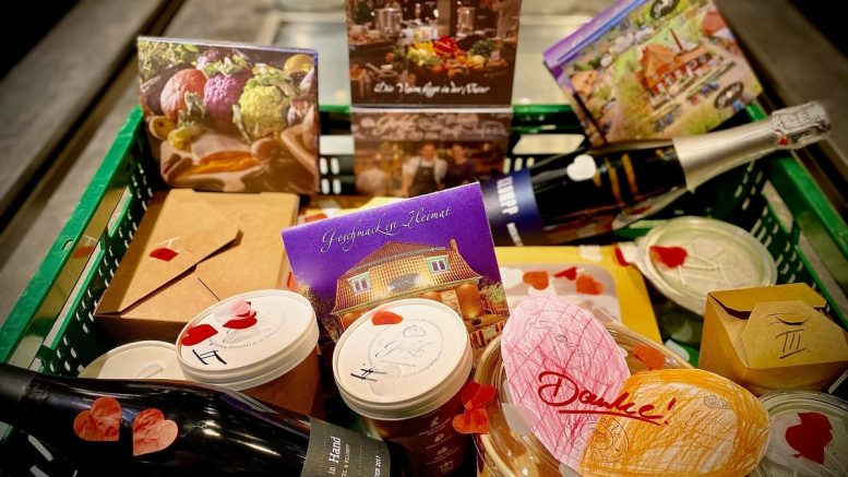 Box des Restaurant Gutsküche zum Valentinstag