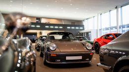 Showroom mit Porsche - David Finest Sport Cars