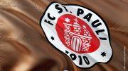 Flagge vom FC St. Pauli Hamburg