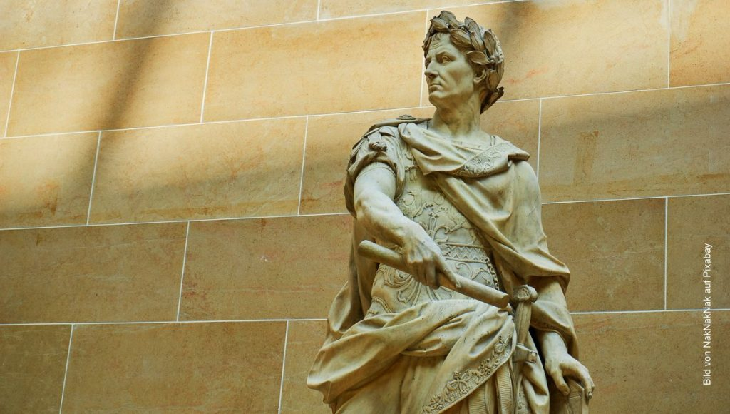 Marmorstatue von Julius Cäsar