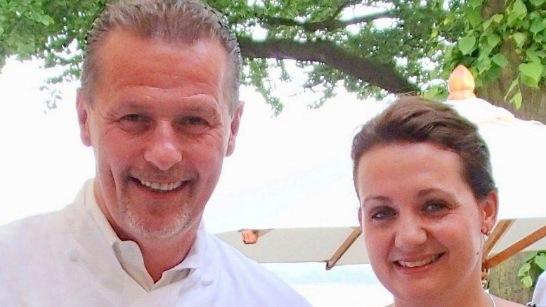 Sterne-Koch Karlheinz Hauser mit Ehefrau Magarete