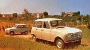 Renault 54 Werbefoto in Frankreich