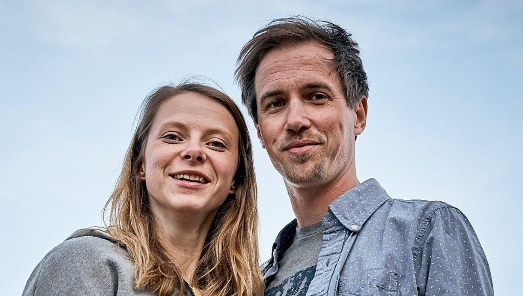 Larissa Peters und Bastian Gembler
