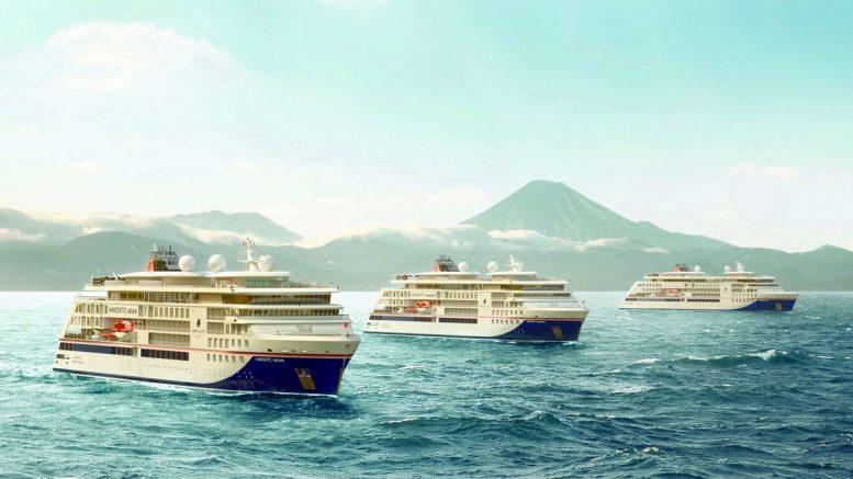 Drei Expeditionsschiffe von Hapag-Lloyd Cruises
