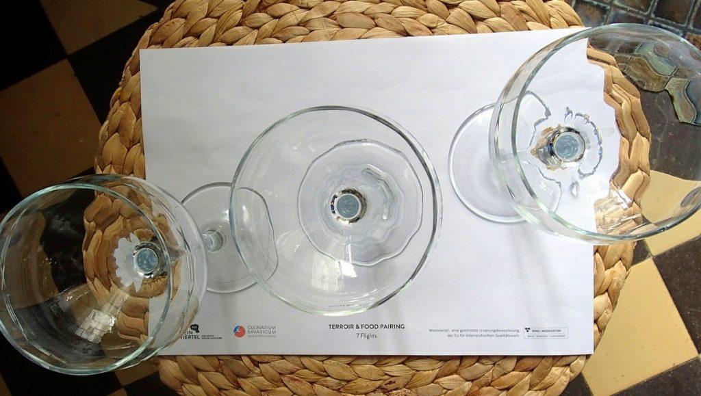 Gläser für die Weinverkostung