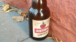 Astra Bierflasche