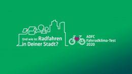Logo für den Fahrradklimatest des ADFC