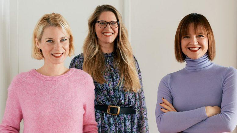 Die drei Ida's Place Gründerinnen: Susanne Rönnefahrt, Dr. Kati Ernst, Kristin Zeller