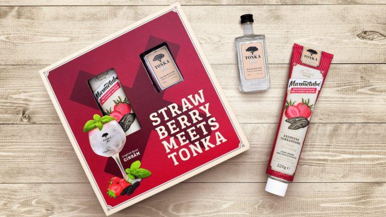 Geschenkset Tonka Gin und Marmetube