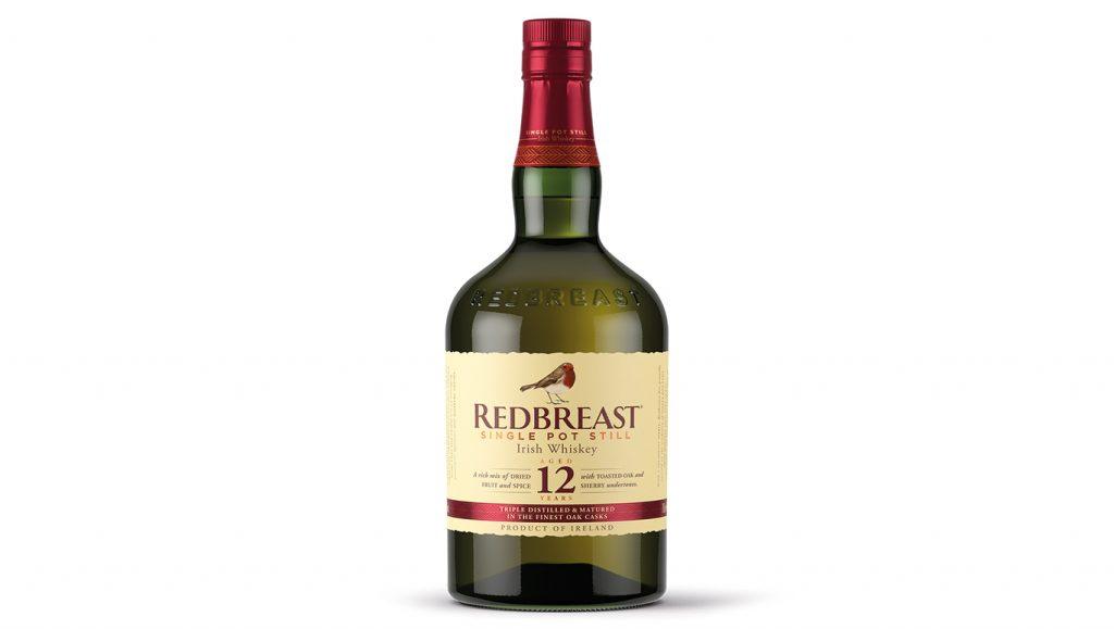 Redbreast Whiskey Flasche als Packshot
