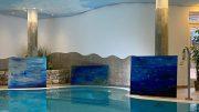Schwimmbad mit Kunst Hotel Sellhorn