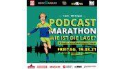 Aktionsmotiv Podcast Marathon