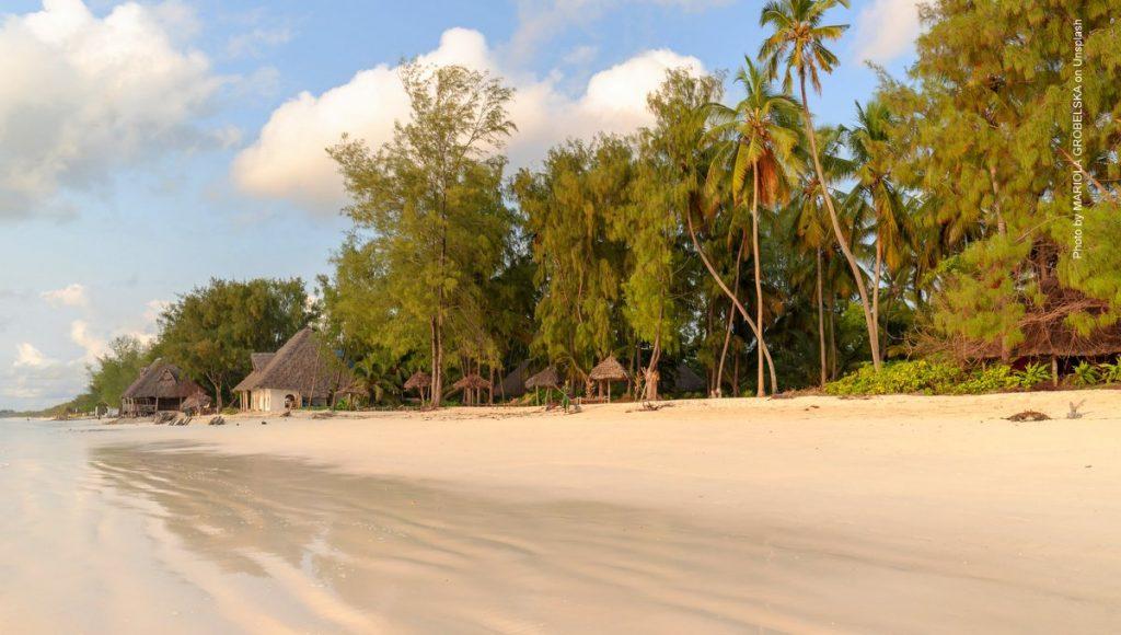 Strandszene Sansibar