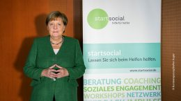 Angela Merkel als Schirmherrin offizielles Pressefoto