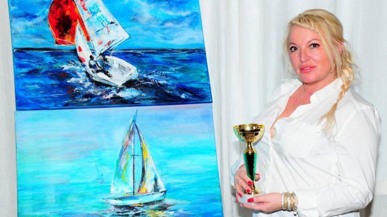 Daniela Teodora Beck mit Polka und Bild