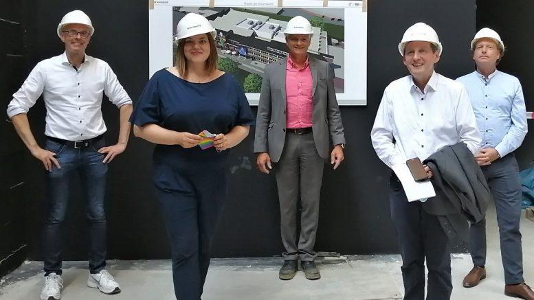 Gruppenbild mit 2. Bürgermeisterin Katharina Fegebank