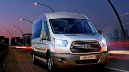 Ford Transit die 7. Generation 2014 Werksfoto