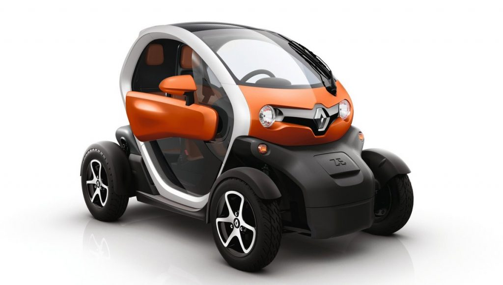 Renault Twizy Werksfoto