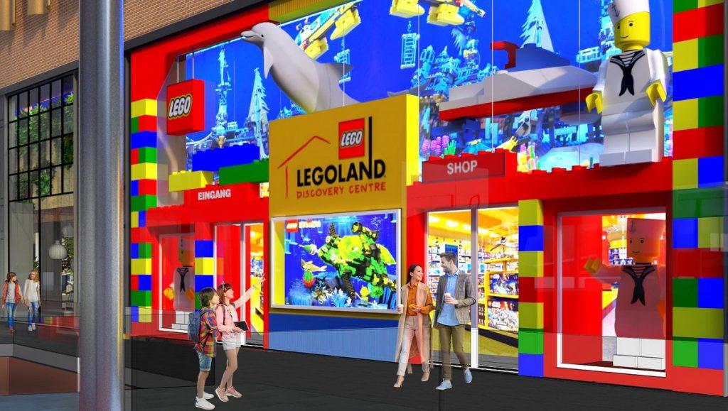 Das geplante Legoland Discovery Center Hamburg