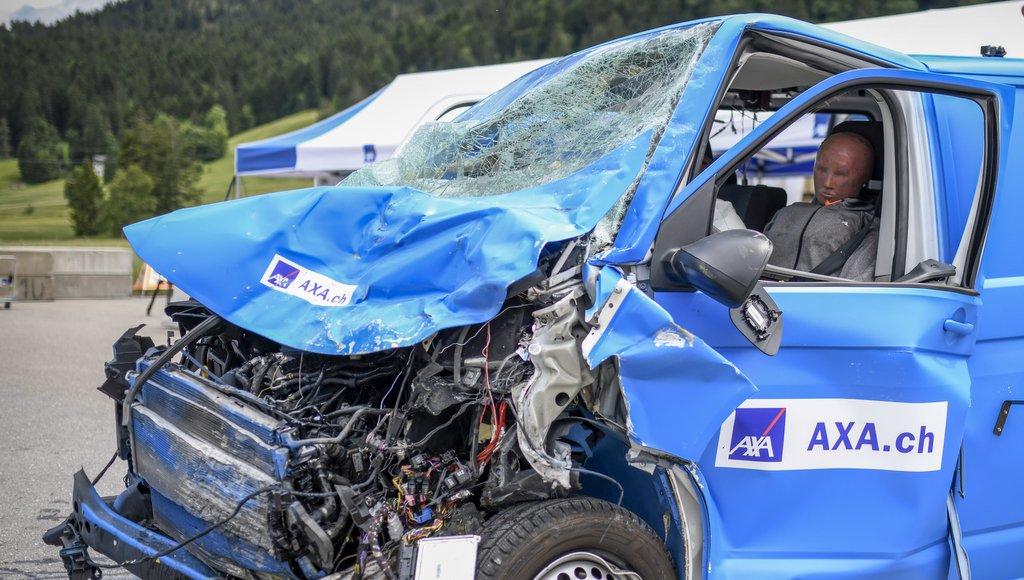 #vanlife VW T6 nach einem Unfall