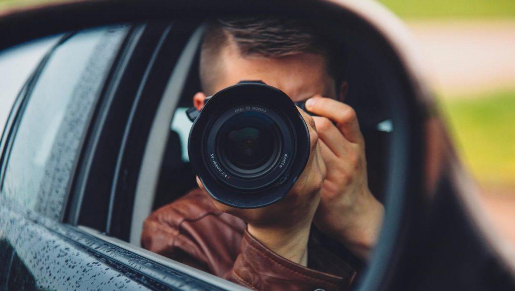 Fotografieren aus dem Auto