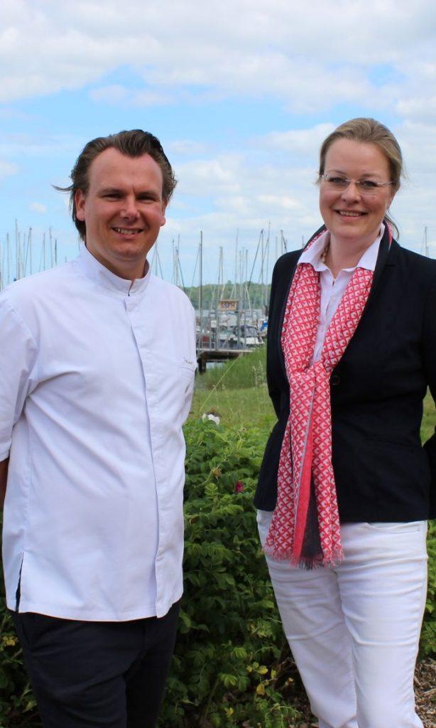 Eike Steinort mit Corinna Hagedorn
