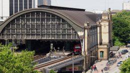 Ansicht des Dammtor Bahnhof Hamburg