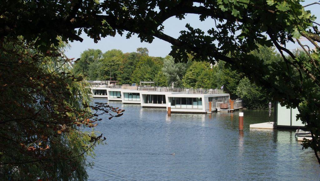 Hausboot-Marina Hammerbrook Hamburg