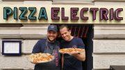 Das offizielle Pizza Electric Eröffnungsfoto