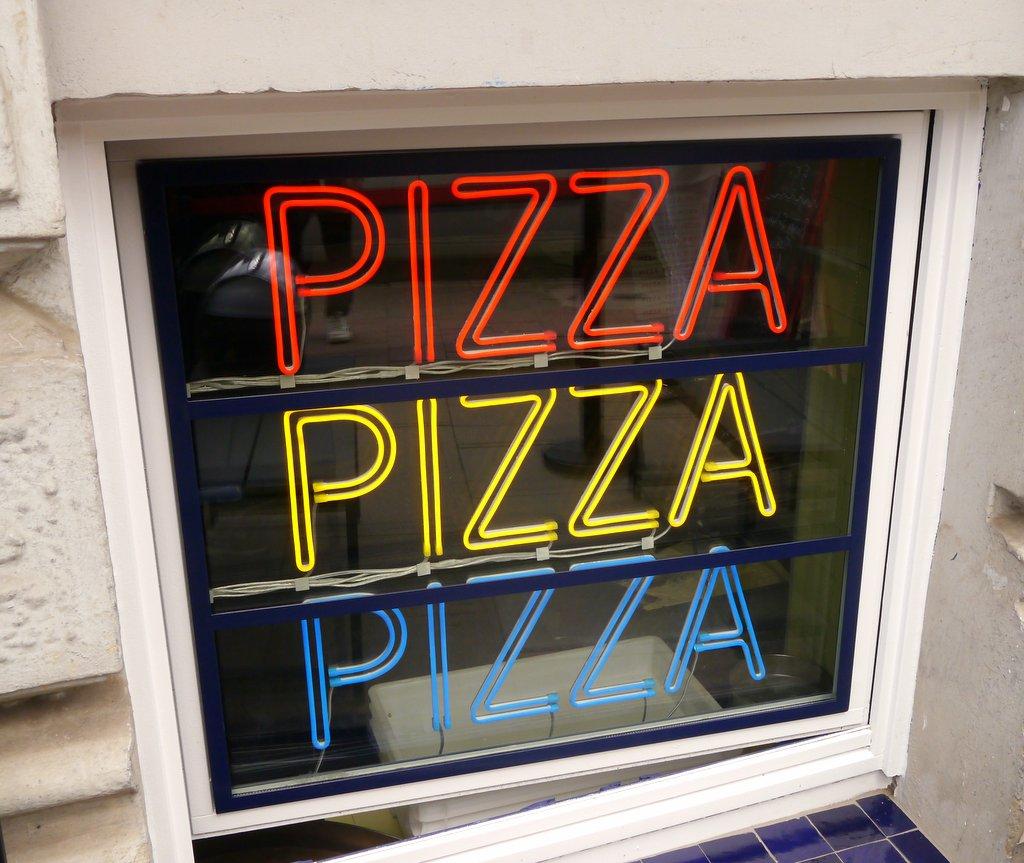Pizza, Pizza, Pizza Neon